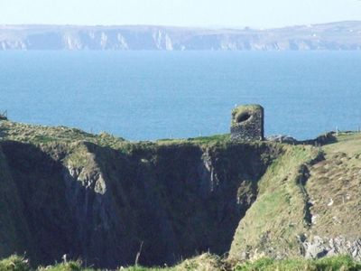 view of watchtower with Galley head in the distance