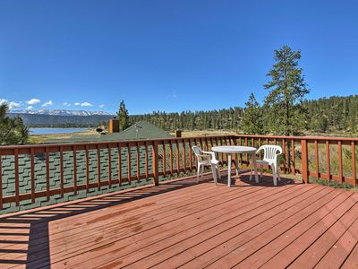 Photo for NEW! Cabin w/Deck & Views Steps from Big Bear Lake