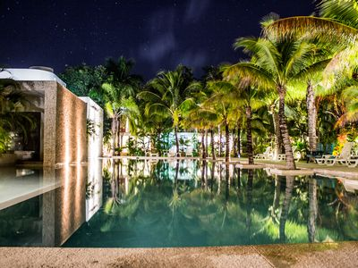 Photo for Best Luxury and Chill White Jungle Condo in Tulum-Huge Pool