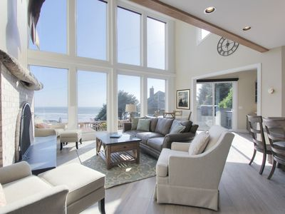 Photo for Premier home w/ breathtaking ocean views, gourmet kitchen, and luxury amenities!