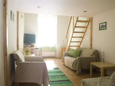 Photo for Studio apartment 409 m from the center of Budapest with Internet, Lift, Washing machine (390568)
