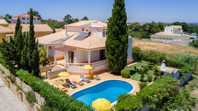 Photo for UP TO 25% OFF! Villa w/ gated pool & garden,AC, free Wi-Fi, 1km to beach
