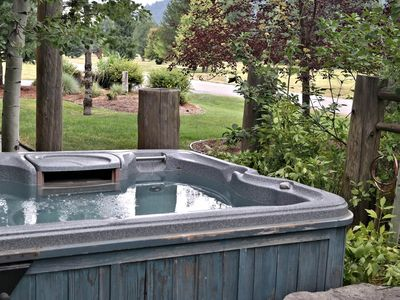 Photo for Idaho Club home w/ a private hot tub, furnished patio, & fairway views