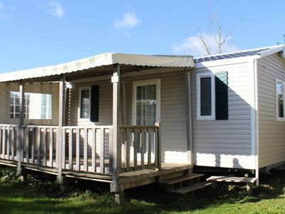Photo for Camping Kerlaz *** - Mobile Home Bermuda 4 Rooms 6 People