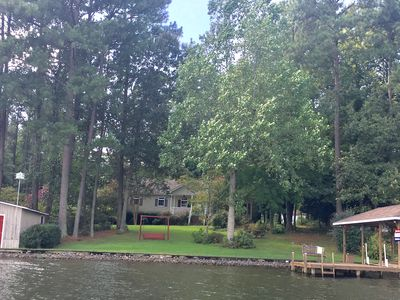 Photo for Popular Location On Pea Hill Creek with deep water!