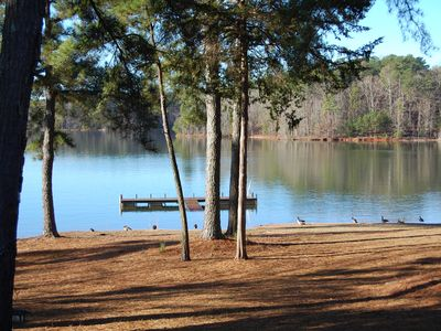 Photo for Beautiful Lakefront Villa on Lake Hartwell- Excellent lake view -Very romantic