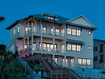 Photo for Incredible Beachfront Vacation Home on 30A w/ Private Pool!