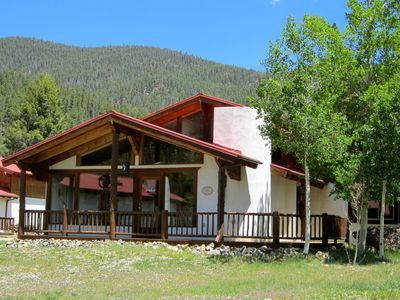 Photo for 4th NT FREE-Sept* Adorable Chalet w/  Views -Walk to Everything! Next to River