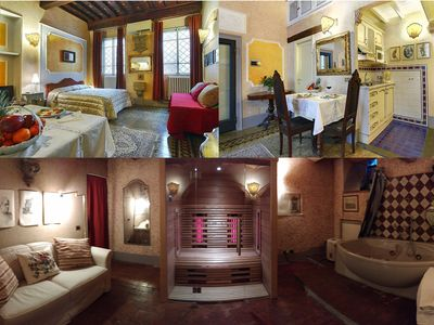 Photo for with SAUNA & JACUZZI for a warm & sweet stay in the heart of Florence