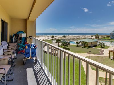 Photo for NEW LISTING! Waterfront condo w/ access to shared pools, hot tubs, tennis courts