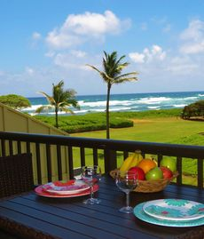 Gorgeous views, just steps from the beach, stocked with everything you will need