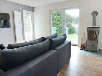 Photo for Beautiful apartment for 9 guests with WIFI, TV, balcony, pets allowed and parking