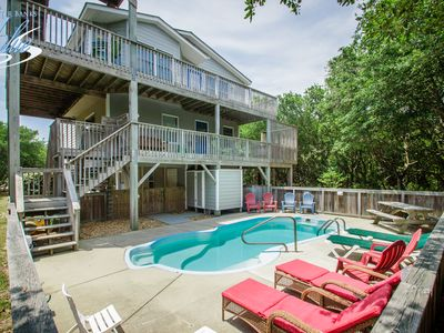 Photo for Breaking Winds | 850 ft from the beach | Private Pool, Hot Tub