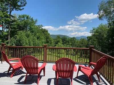 Photo for Charming mountain retreat with valley views, walk to Sugarbush Mt Ellen