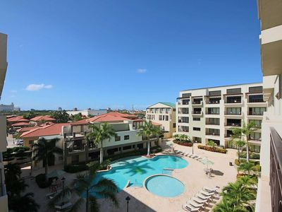 Photo for Tropical Paradise, Beautiful and Spacious Condo, Relax on Large Balcony, 5 min from Attractions