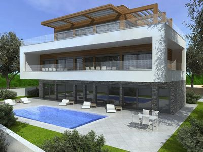 Photo for Holiday house Pula for 10 persons with 5 bedrooms - Holiday house
