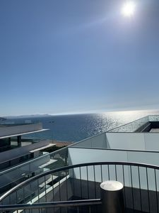 Photo for ON THE BEACH OF PLAYA DE ARO, New apartment, roof terrace, pool, Free WIFI