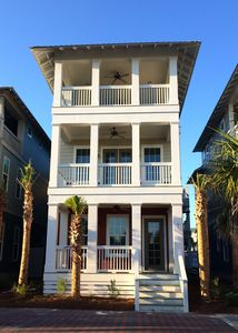 Photo for GULF VIEWS just STEPS FROM ROSEMARY BEACH - Beach Heaven