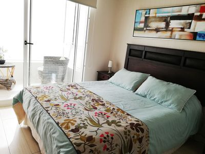 Photo for Beautiful apartment for families or couples located minutes from the beach