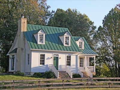 Photo for Hunt Box-Antique Filled Cottage on Lowelands Farm-Middleburg