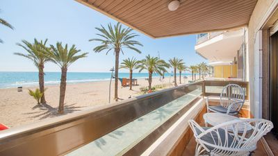Photo for R61 Beachfront Apartment in Calafell