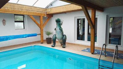 Photo for Holiday Home Kvitek - vacation house with indoor pool and large game room