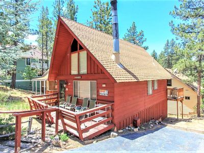 Photo for House in the center of Big Bear Lake with Parking, Internet, Washing machine (983489)