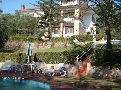 Photo for Villa with 2 spacious apartments for 2 x 7 people and swimming pool near Pisa and the sea