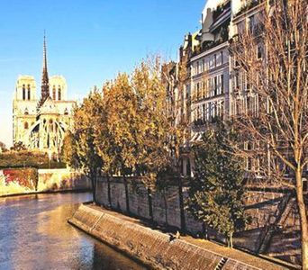 Photo for NOTRE DAME/LUXEMBOURG GARDENS/PENTHOUSE/STUNNING VIEW/BALCONIES/SEINE/ST GERMAIN