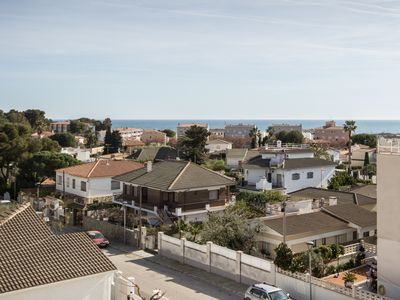 Photo for Apartment with excellent sea views and very close to the beach.
