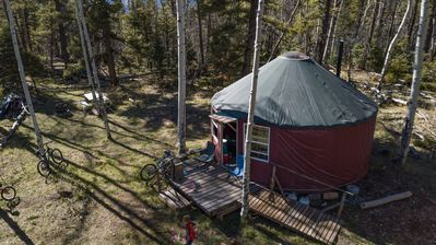 Photo for Long John Hike-in Camping Yurt