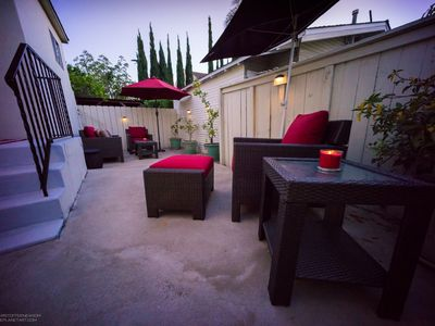 Casual Elegance with Large Private Patio
