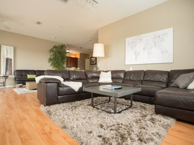 Photo for Huge Stylish Penthouse with Lake View Close to Theme Parks, Convention Center
