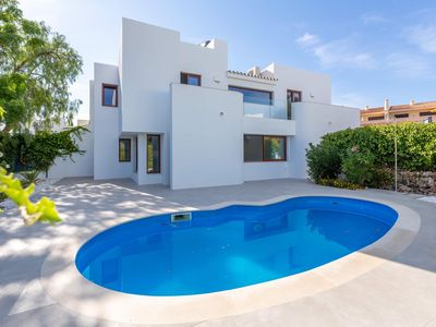 Photo for VILLA MATILDE - LUXURY 3 BED 3 ENSUITE VILLA SLEEPS 6-8 PRIVATE HEATED POOL