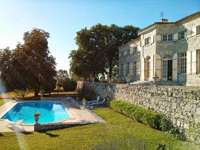Photo for Charming Ancient property, 32 people, 14 bedrooms, 2 pools, billiards