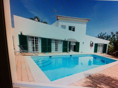 Photo for villa with pool in the Algarve in Portimão with pool near the beach and golf