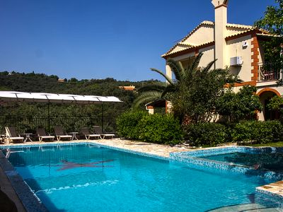 Photo for Luxurious Villa in North Corfu With Swimming Pool.