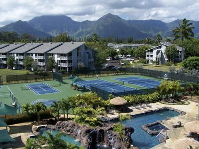 Photo for Beautiful  2 bedroom apartment in Kauai for 6.