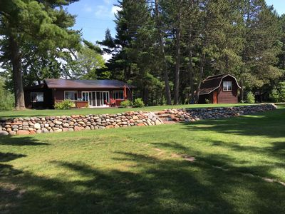 Photo for Upnorth Wisconsin Retreat On Big Sissabagama Lake **20 Minutes From Hayward**