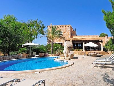 Photo for s'Horta Villa, Sleeps 10 with Pool, Air Con and WiFi
