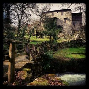 Photo for Ourense: Country house with garden beside the river - Entire house for rent. Three en suite double rooms