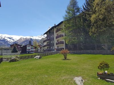 Photo for Apartment in the center of Zermatt with Lift, Internet, Garden, Terrace (45851)