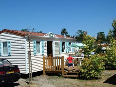 Photo for Camping La Rive ***** - Mobile home 4 Rooms 6 People