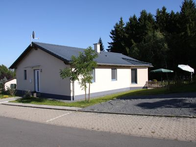 Photo for A modern bungalow, with a wood burning stove, on a small holiday park.