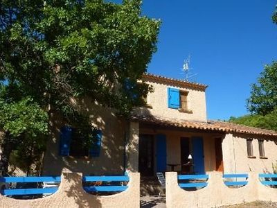 Photo for A lovely, sunlit holiday home, with exceptional views of the Luberon