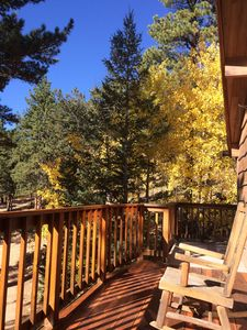 Photo for Ponderosa Cabin is just Minutes from Rocky Mountain National Park and Wild Basin