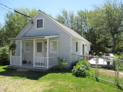 Photo for 2 bedrooms, 1 Bathroom, Quiet Neighborhood Close to Beach and Downtown Boothbay Harbor