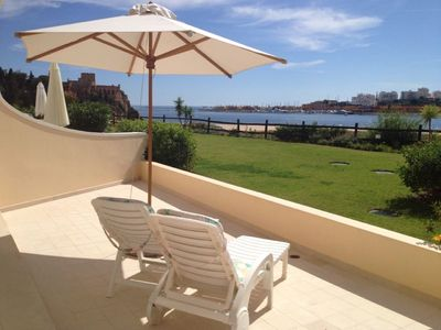Photo for 1 bedroom apartment for condo holiday with pool - Ferragudo