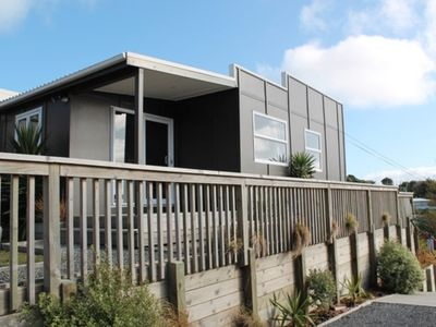 Photo for Cosy Raumati South Beach Bach