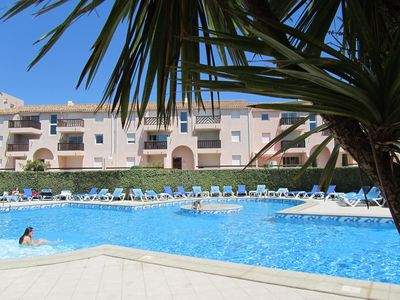 Photo for St-CYPRIEN Apart. seaside 2terras Pool ParkinSecure. Proch. comm. accèsHandica